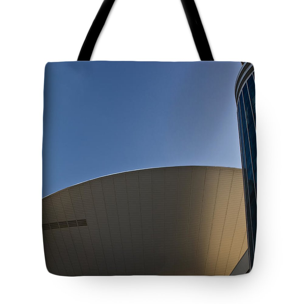 Flying Tote Bag featuring the photograph Flying Sauser by Douglas Barnett
