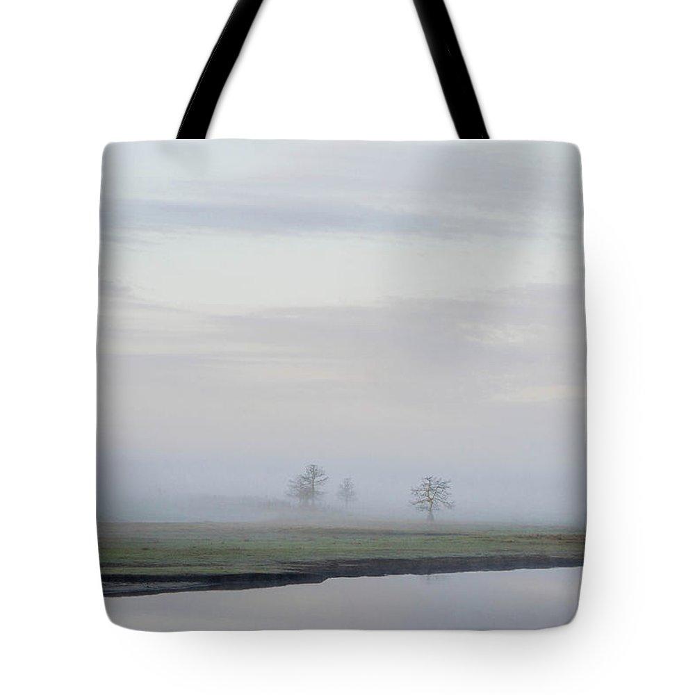 Fog Tote Bag featuring the photograph Fog 3 by Shannon Harrington