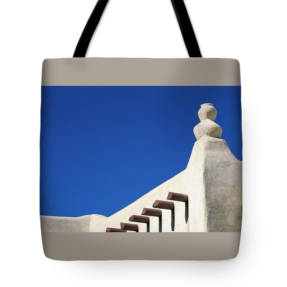 Southwest Tote Bag featuring the photograph Follow The Cairn by Jim Benest