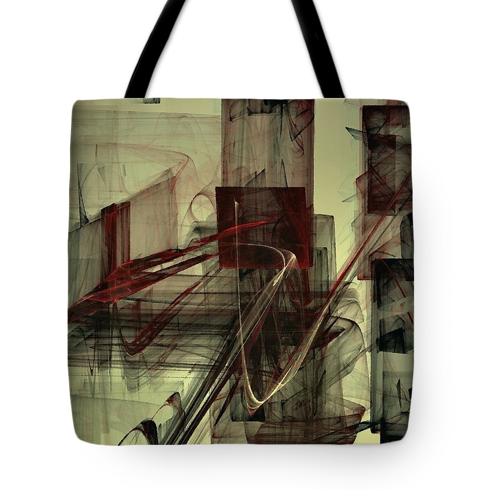 Chess Tote Bag featuring the digital art Fools Mate by NirvanaBlues