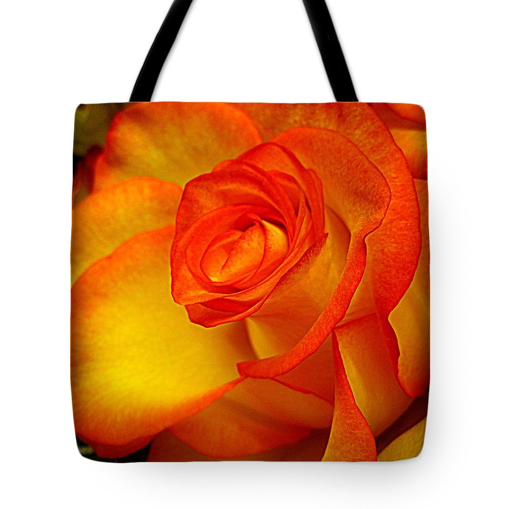 Flowers Tote Bag featuring the digital art For Bill by Bonita Brandt