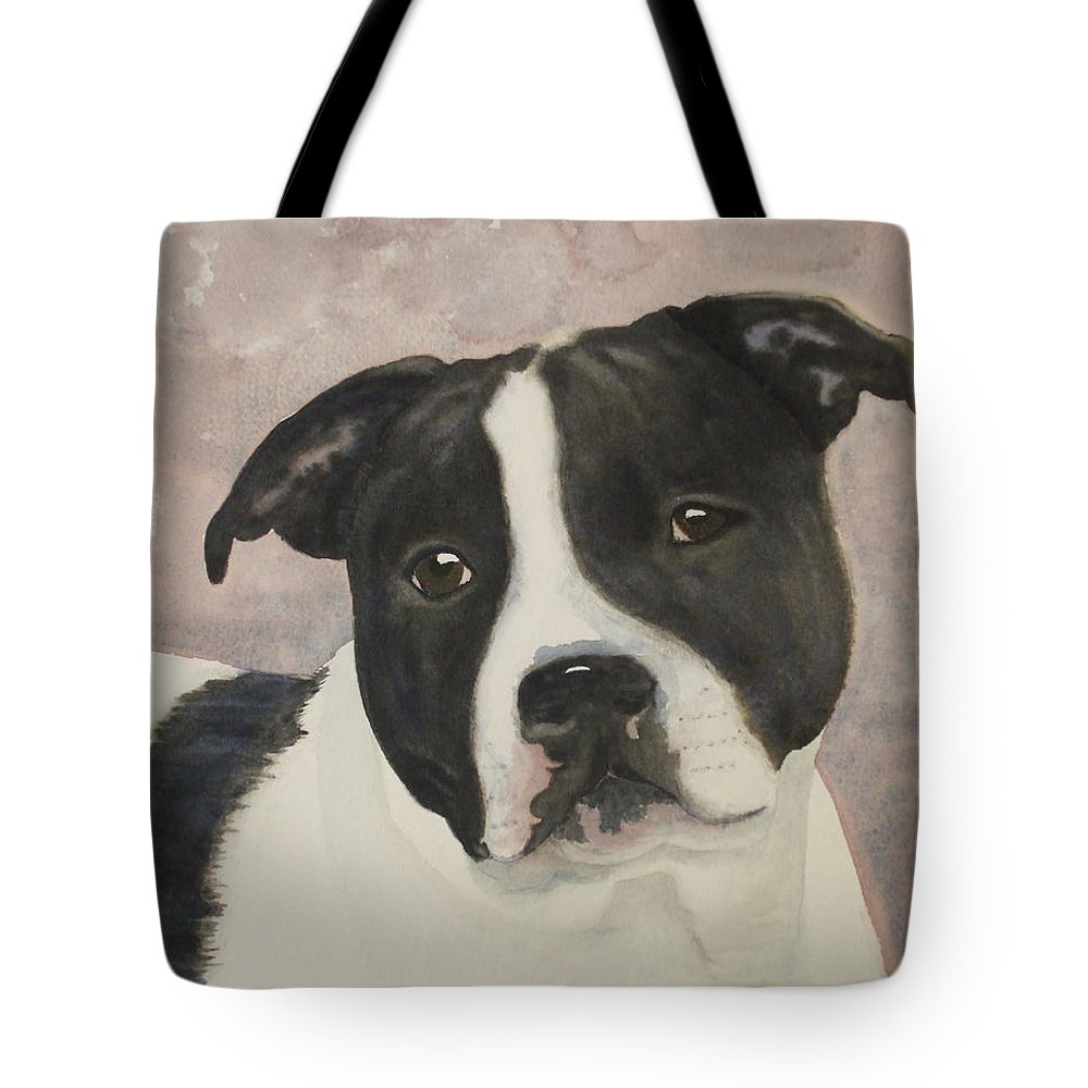 Dog Tote Bag featuring the painting For Me by Ally Benbrook