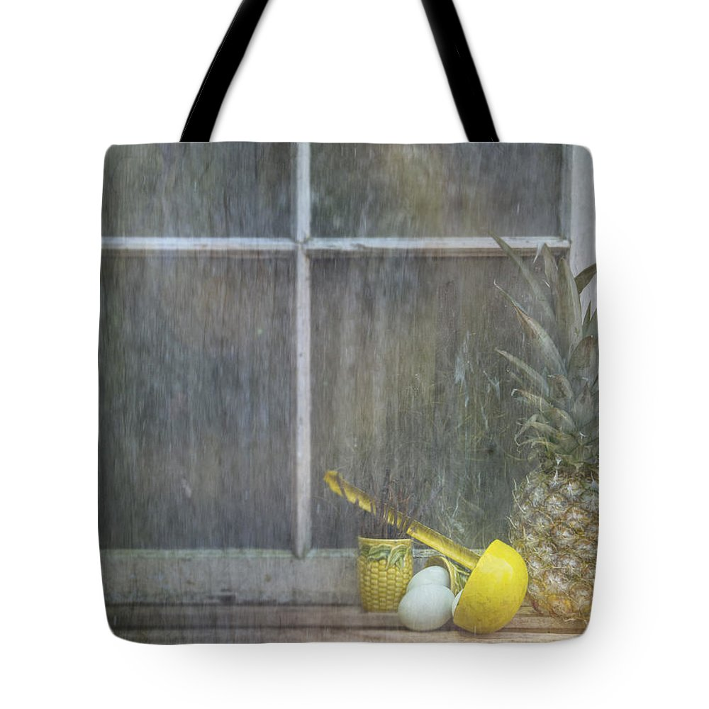 Pineapple Tote Bag featuring the photograph For Thought by Nichon Thorstrom