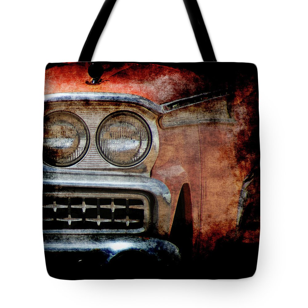 Fords Tote Bag featuring the photograph Ford by Ernie Echols