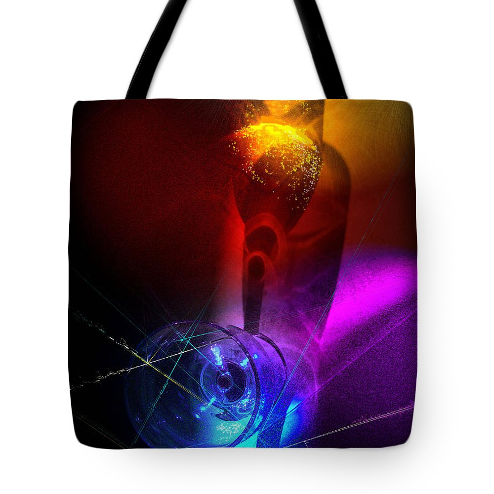 Fantasy Tote Bag featuring the photograph Foreplay by Miki De Goodaboom