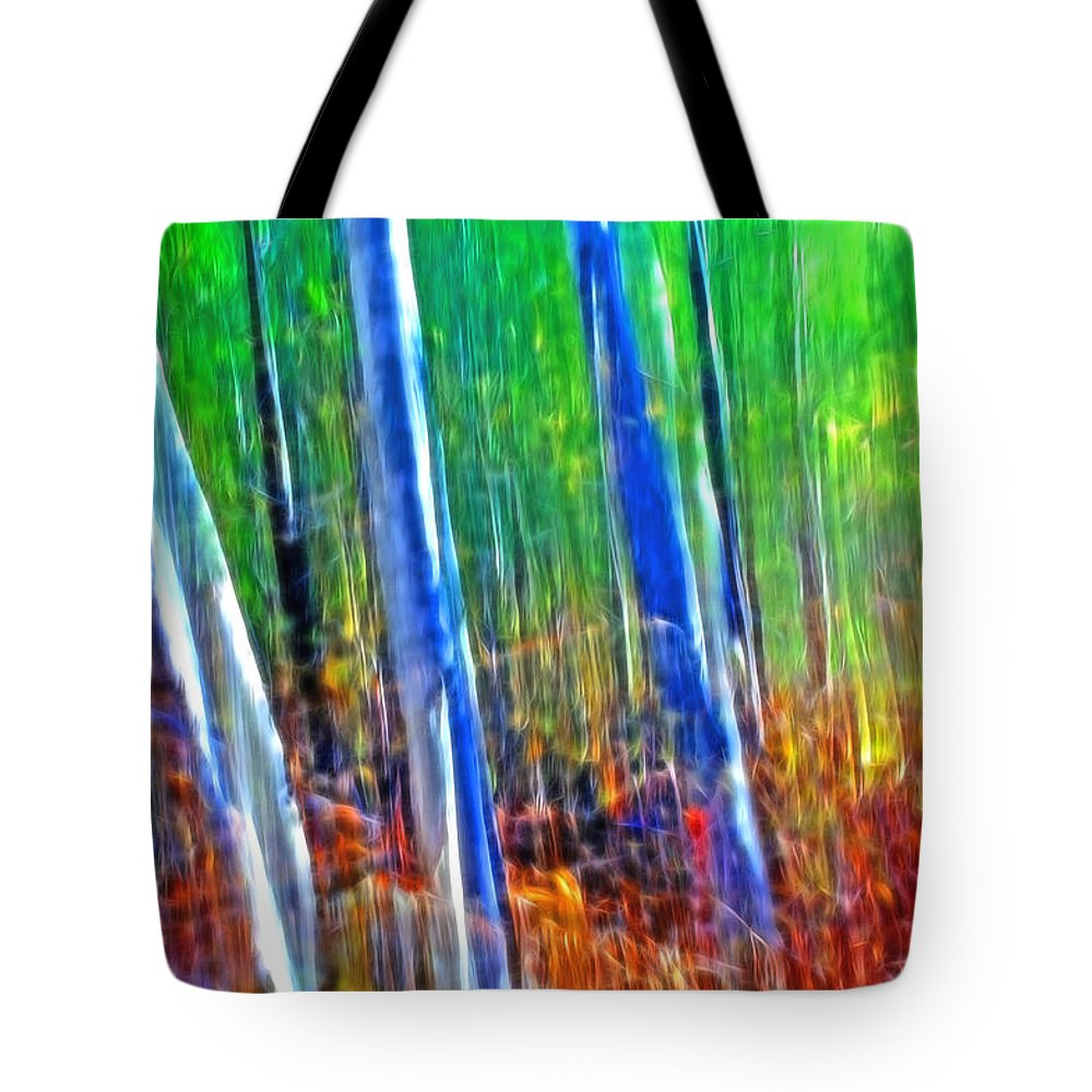 Forest Tote Bag featuring the photograph Forest Magic by Bill Morgenstern