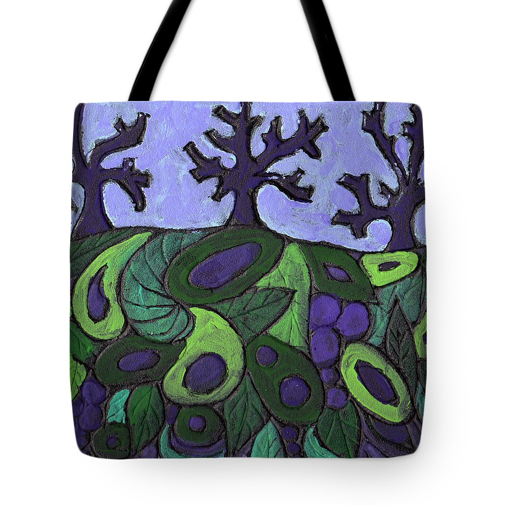 Forest Tote Bag featuring the painting Forest Royal by Wayne Potrafka