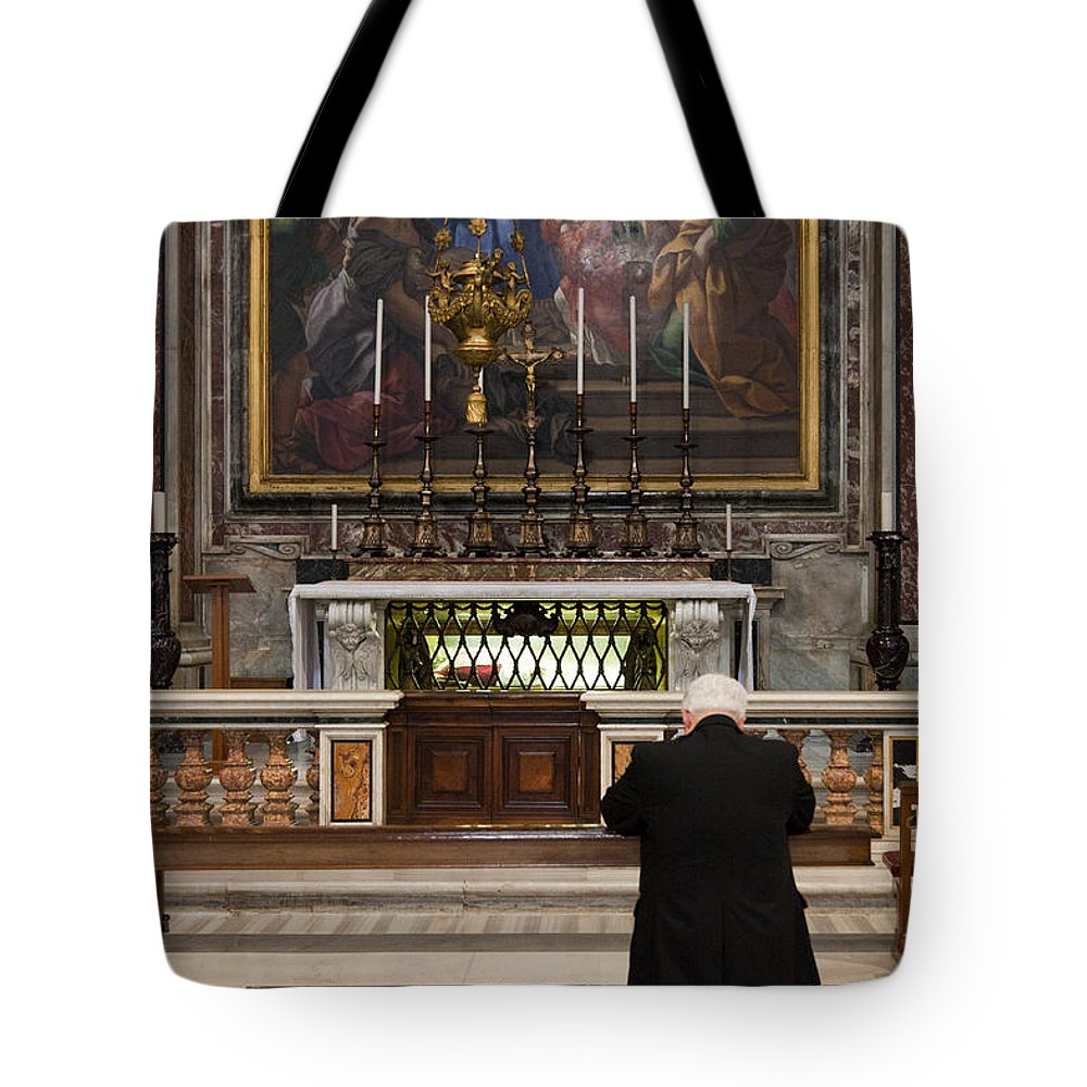 Italy Tote Bag featuring the photograph Forgiveness by Janet Fikar