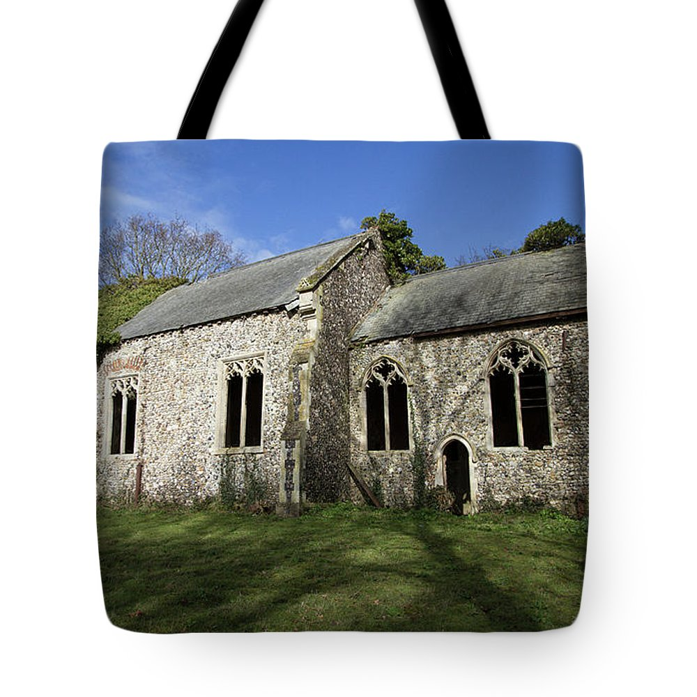Tote Bag featuring the photograph Forgotten by Alan Thorpe