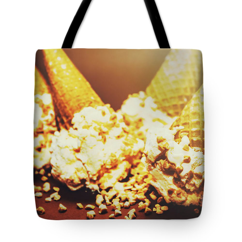 Four Artistic Ice-cream Cones Tote Bag for Sale by Jorgo Photography ...