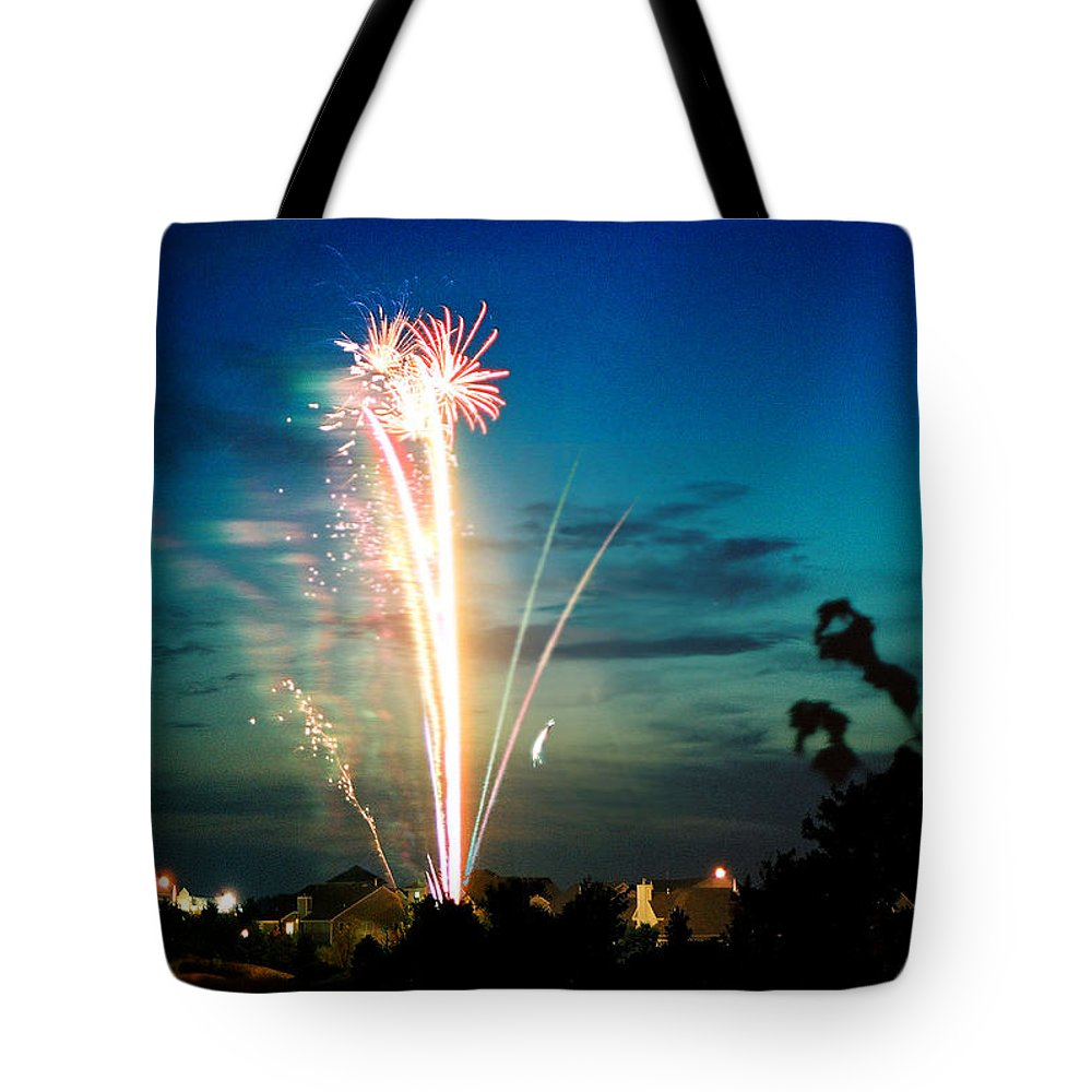 Landscape Tote Bag featuring the photograph Fourth Of July by Steve Karol