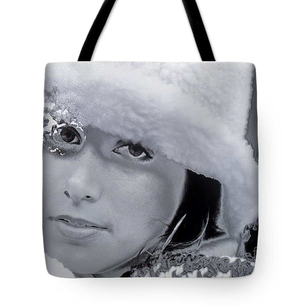 Eyes Tote Bag featuring the photograph Discombobulated Fractionilization And Reticulation Of Being by Wernher Krutein