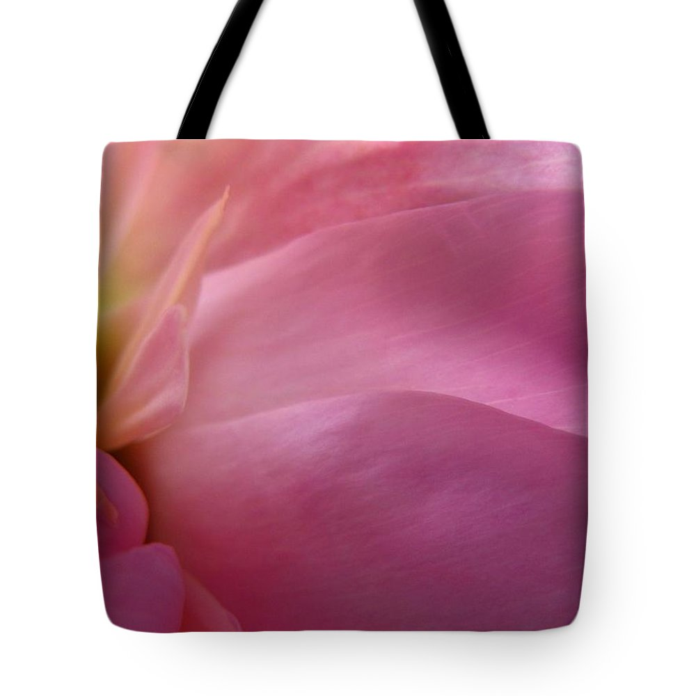 Flower Tote Bag featuring the photograph Fragment by Rhonda Barrett