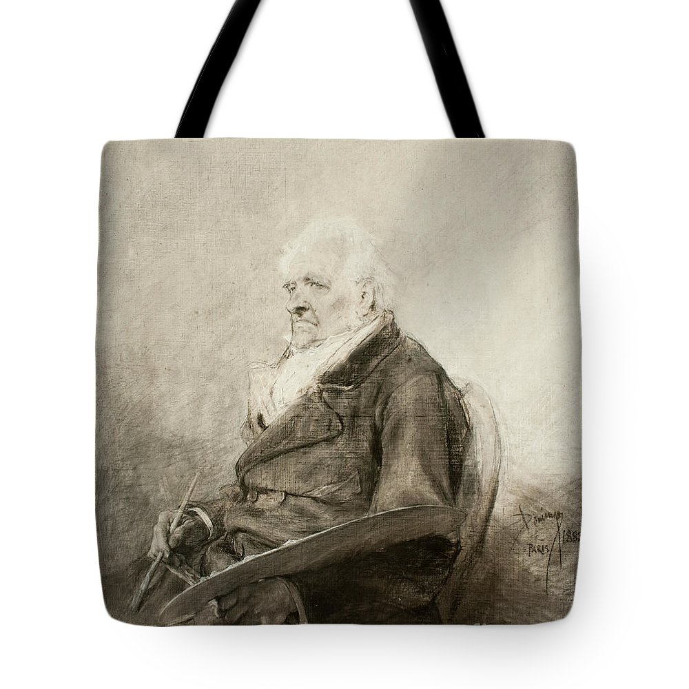 Francisco Domingo Marques Tote Bag featuring the painting Francisco Domingo Marques by Celestial Images