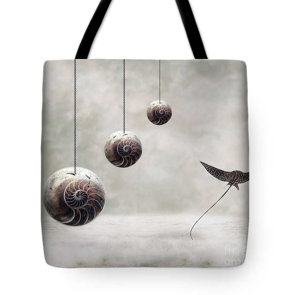 Surrealism Tote Bag featuring the photograph Free by Jacky Gerritsen