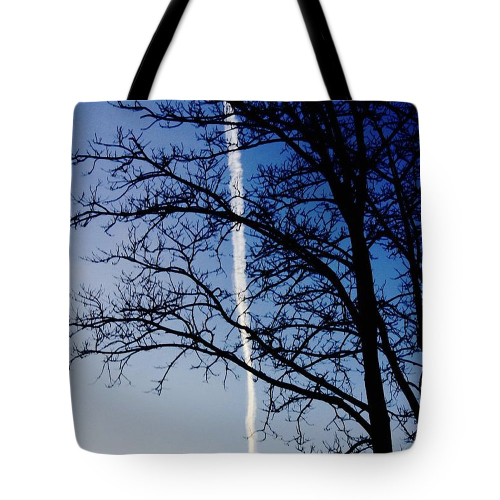 Photo Tote Bag featuring the pyrography Free To Fly by Rick Triest
