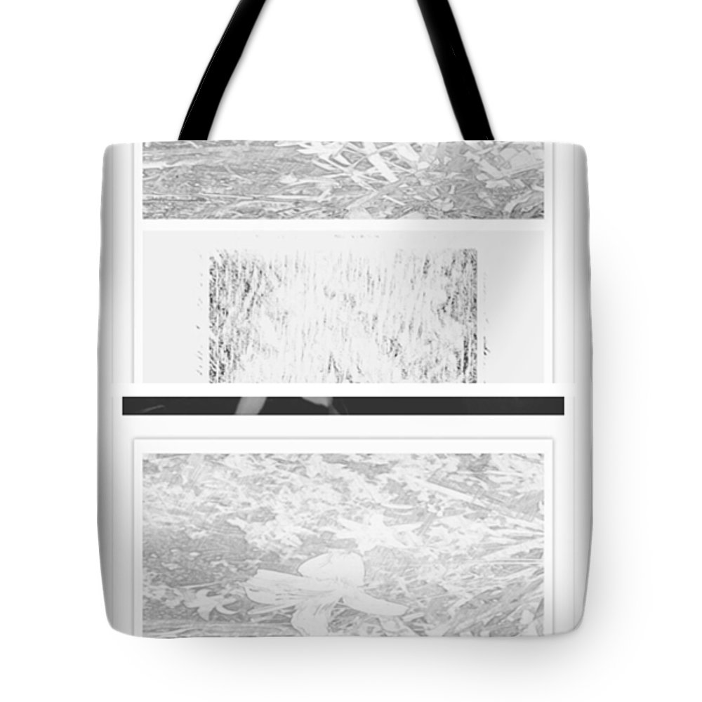 Abstract Tote Bag featuring the photograph Freedom Flower One by Alwyn Glasgow