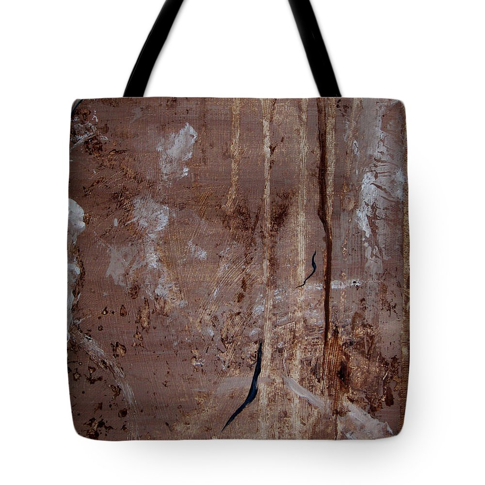 Abstract Tote Bag featuring the painting Freedom Of Expression II by Ruth Palmer