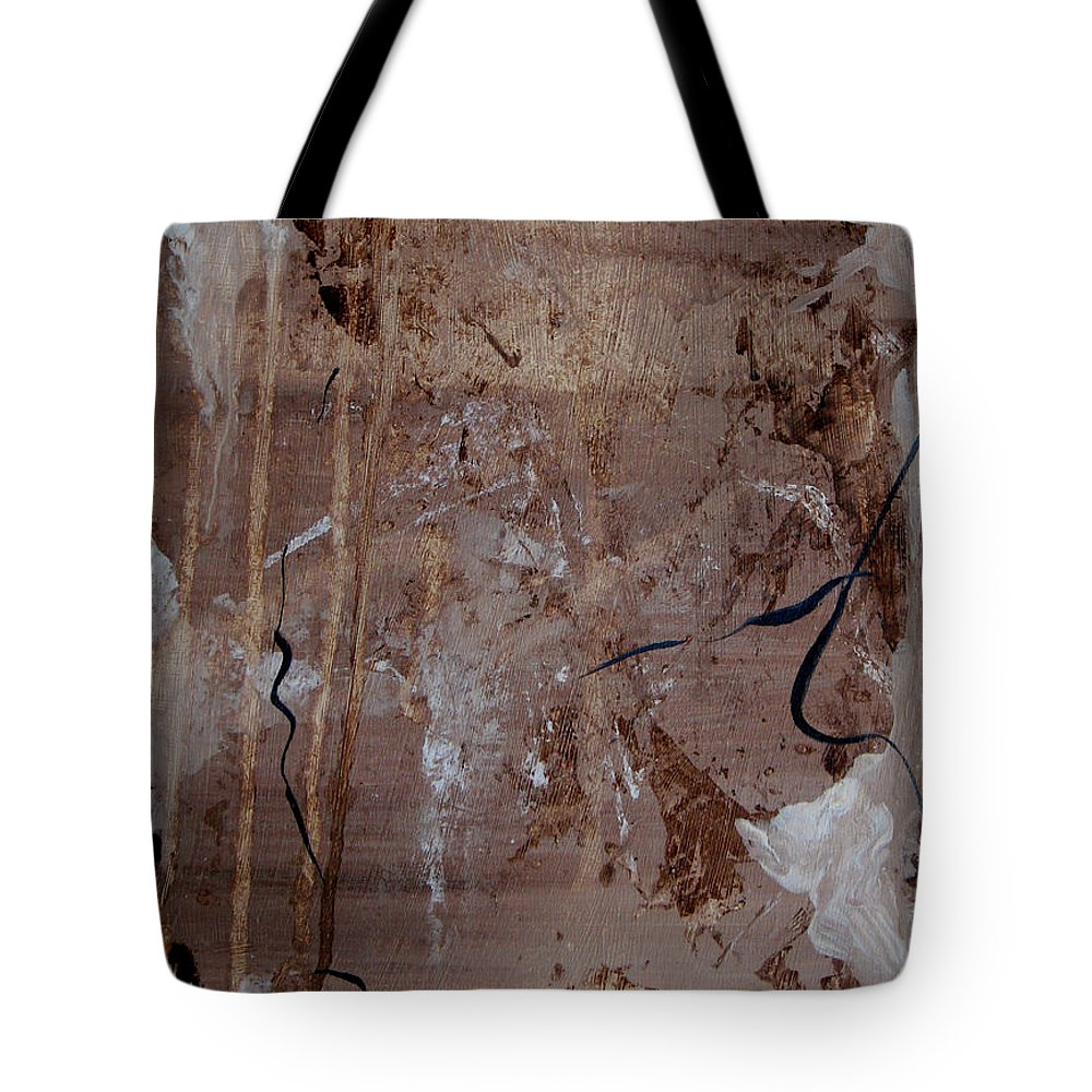 Abstract Tote Bag featuring the painting Freedom Of Expression by Ruth Palmer