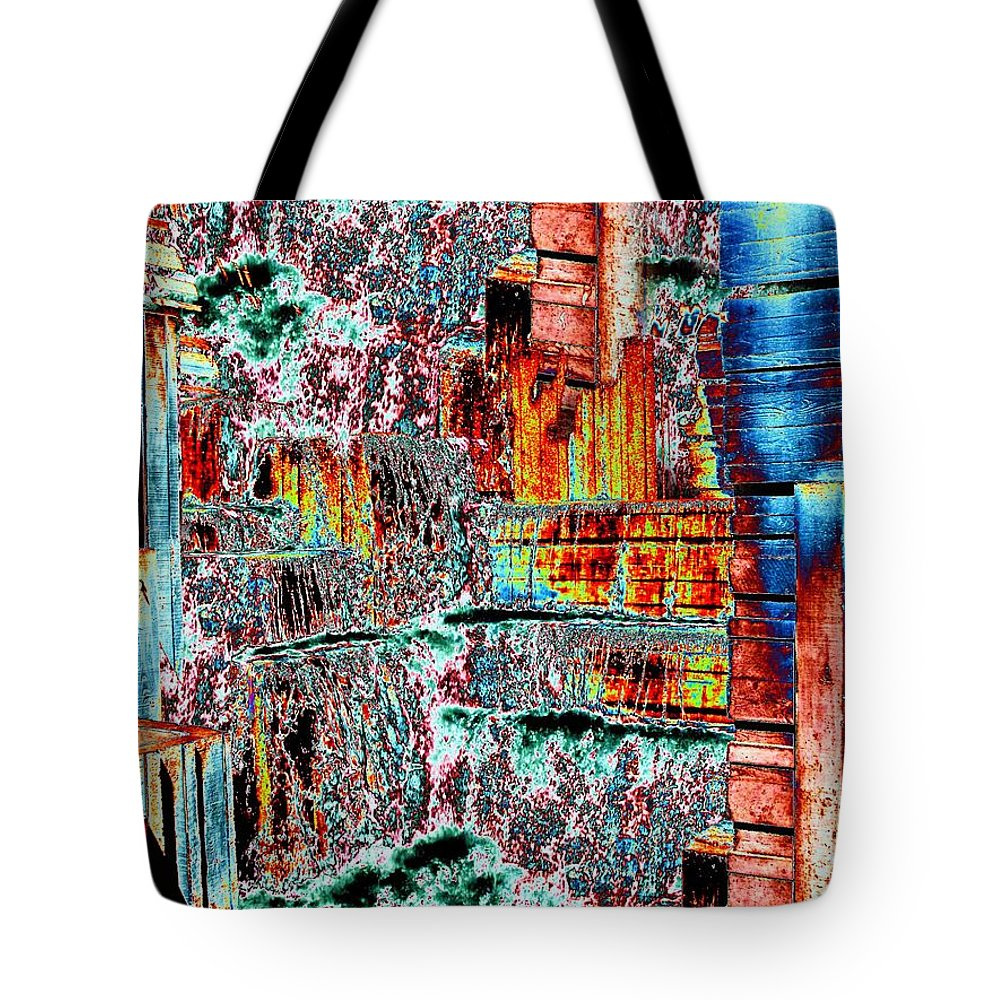 Seattle Tote Bag featuring the photograph Freeway Park 6 by Tim Allen