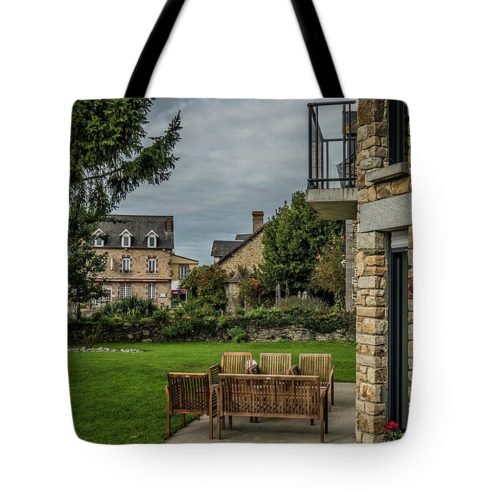 Tote Bag featuring the photograph French Architecture by Jason Steele