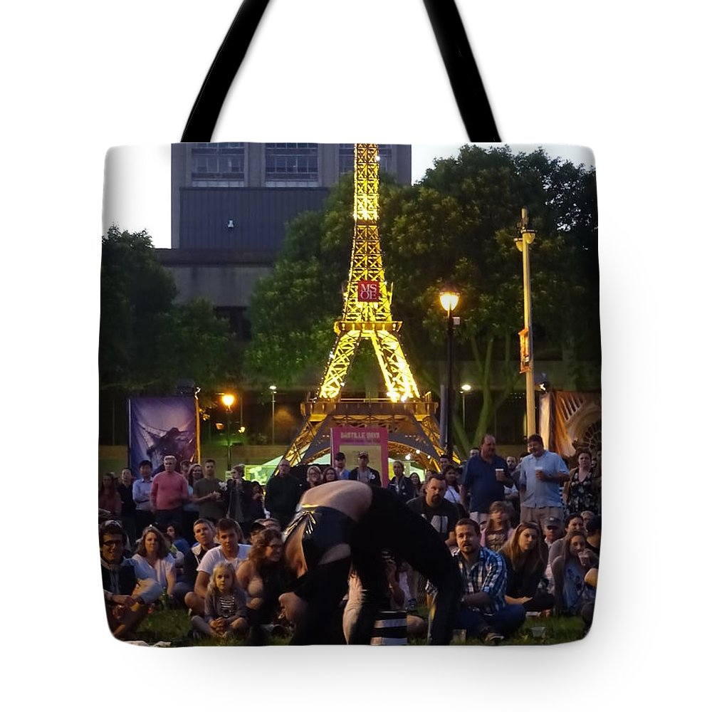French Tote Bag featuring the photograph French Connection by Red Cross