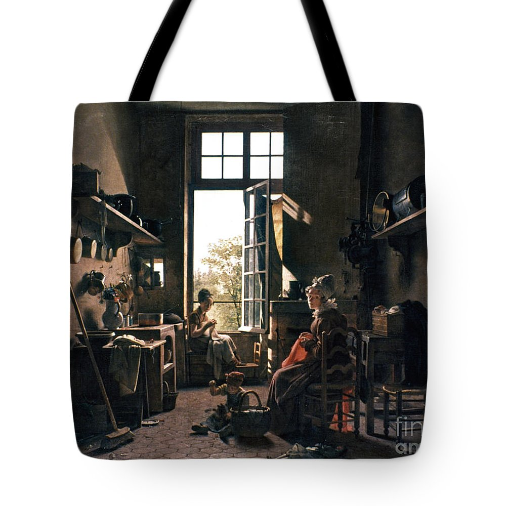 -domestic- Tote Bag featuring the photograph French Kitchen by Granger