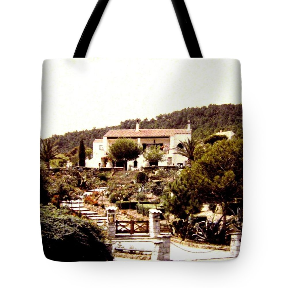 1955 Tote Bag featuring the photograph French Riviera 1955 by Will Borden
