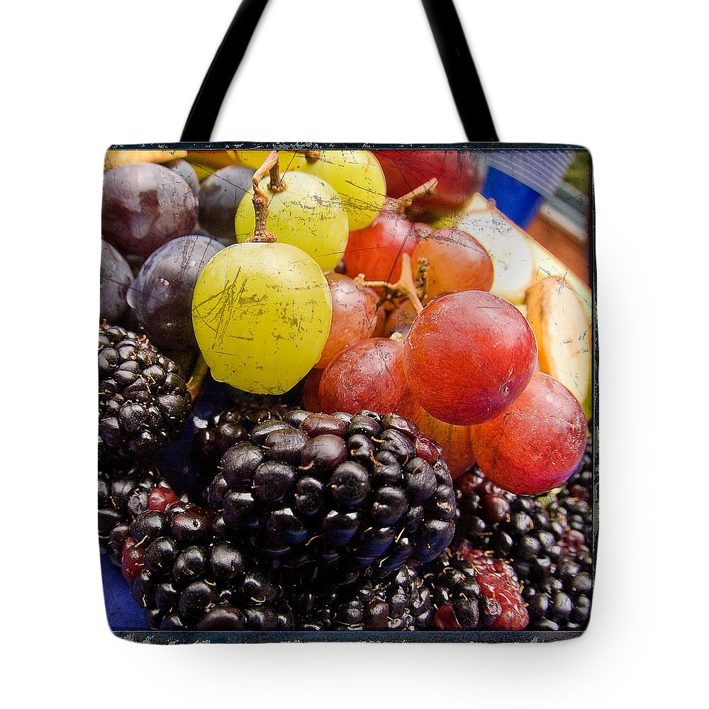 Fruit Tote Bag featuring the photograph Fresh Not Frozen by Jeffery Ball