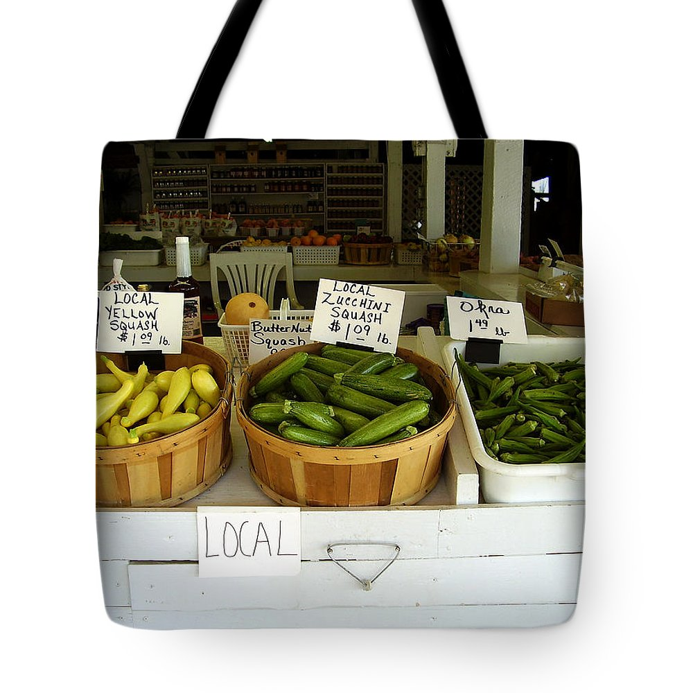 Fresh Produce Tote Bag featuring the photograph Fresh Produce by Flavia Westerwelle