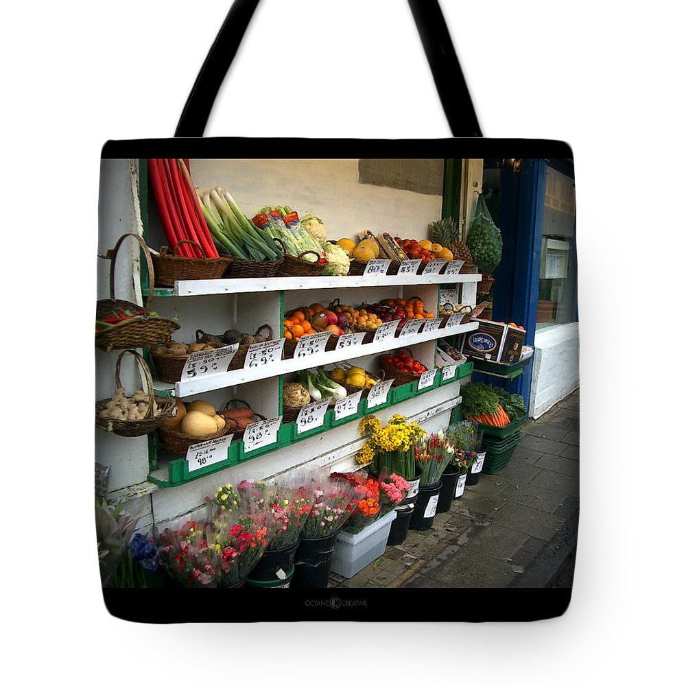 Shaftesbury Tote Bag featuring the photograph Fresh Produce by Tim Nyberg