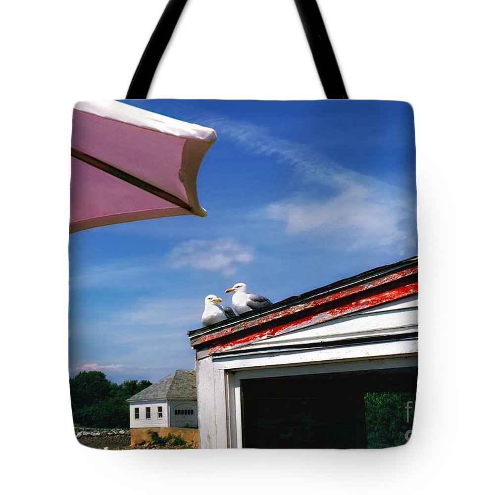 Friends Tote Bag featuring the photograph Friends by Madeline Ellis