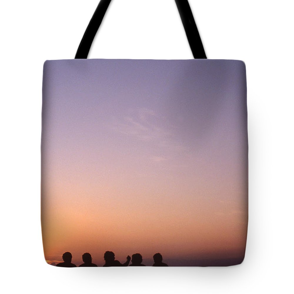 Bahia Tote Bag featuring the photograph Friends by Patrick Klauss