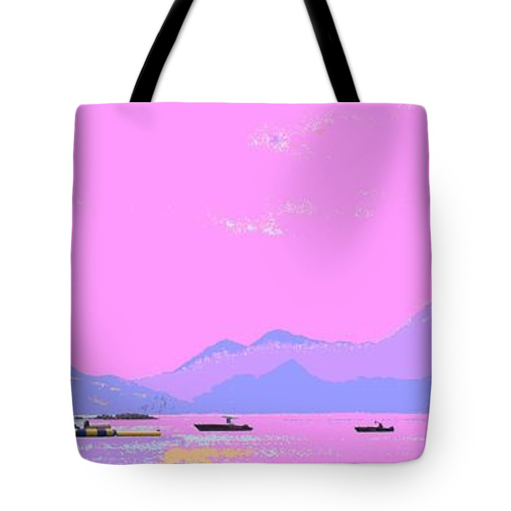 Frigate Tote Bag featuring the photograph Frigate Bay Morning by Ian MacDonald