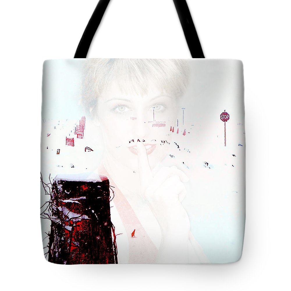 Clay Tote Bag featuring the photograph Frigid by Clayton Bruster