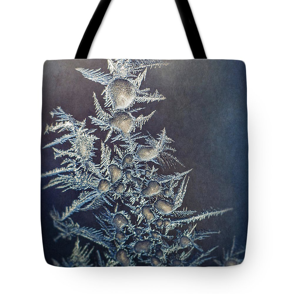 Frozen Tote Bag featuring the photograph Frost by Scott Norris