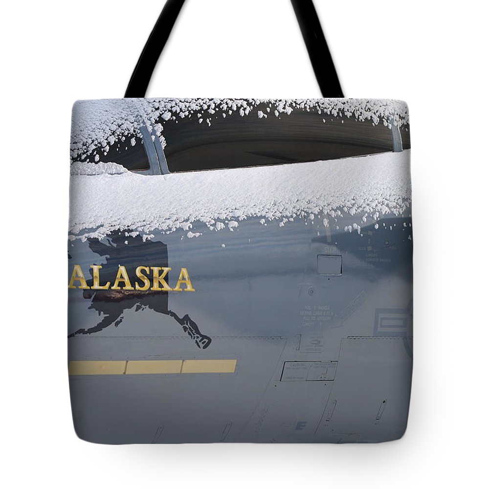 Canopy Tote Bag featuring the photograph Frosty Canopy by Rick Monyahan