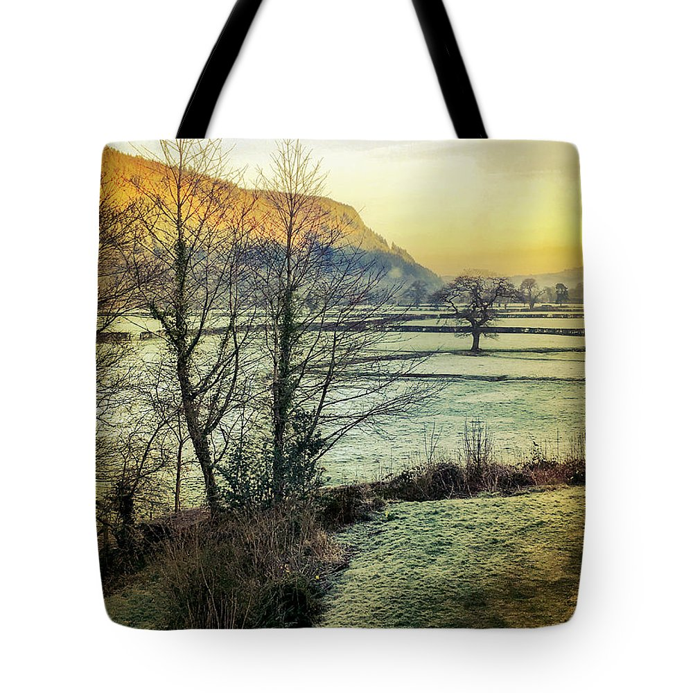 Frost Tote Bag featuring the photograph Frosty Morning Light by Mo Barton