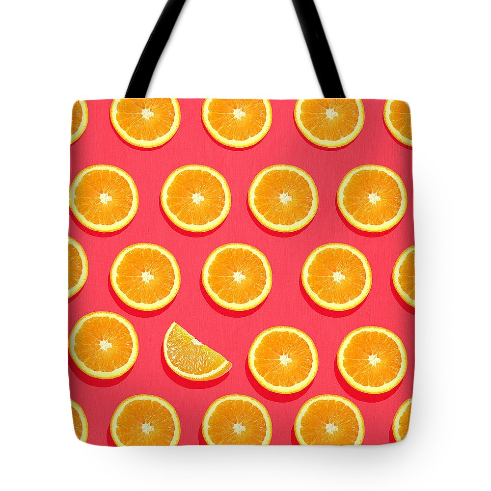 Abstract Tote Bag featuring the painting Fruit 2 by Mark Ashkenazi