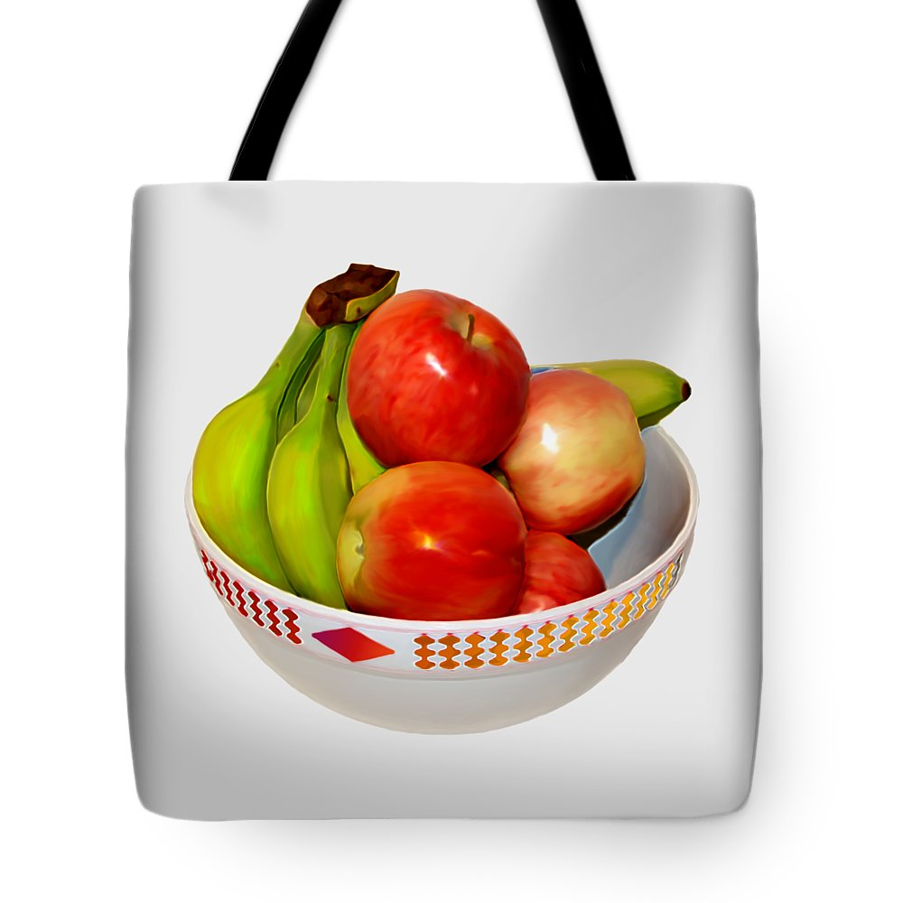 Fruit Tote Bag featuring the photograph Fruit Bowl Still Life by MountainSky S