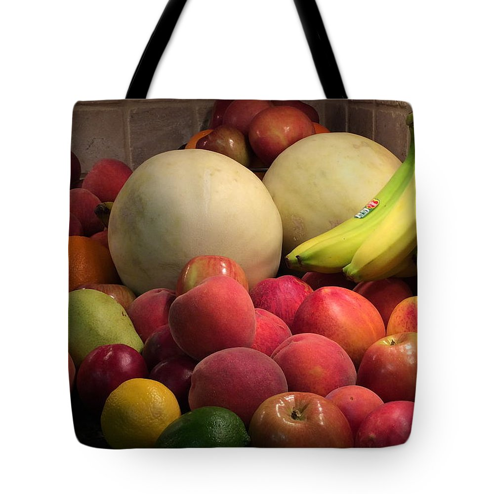 Fruit Tote Bag featuring the photograph Fruit by Jacob Sheffield