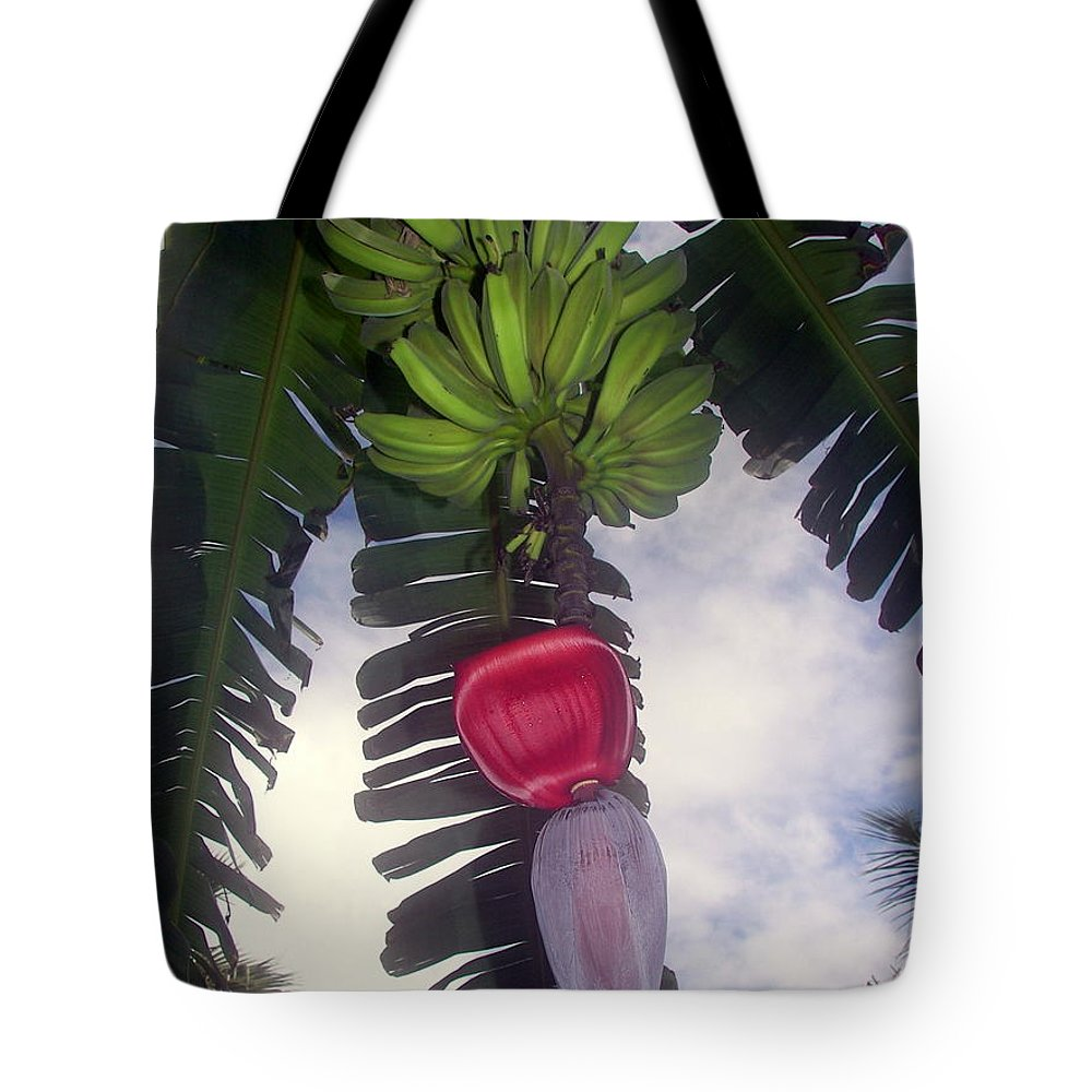 Tropical Tote Bag featuring the photograph Fruitful Beauty by Karen Wiles