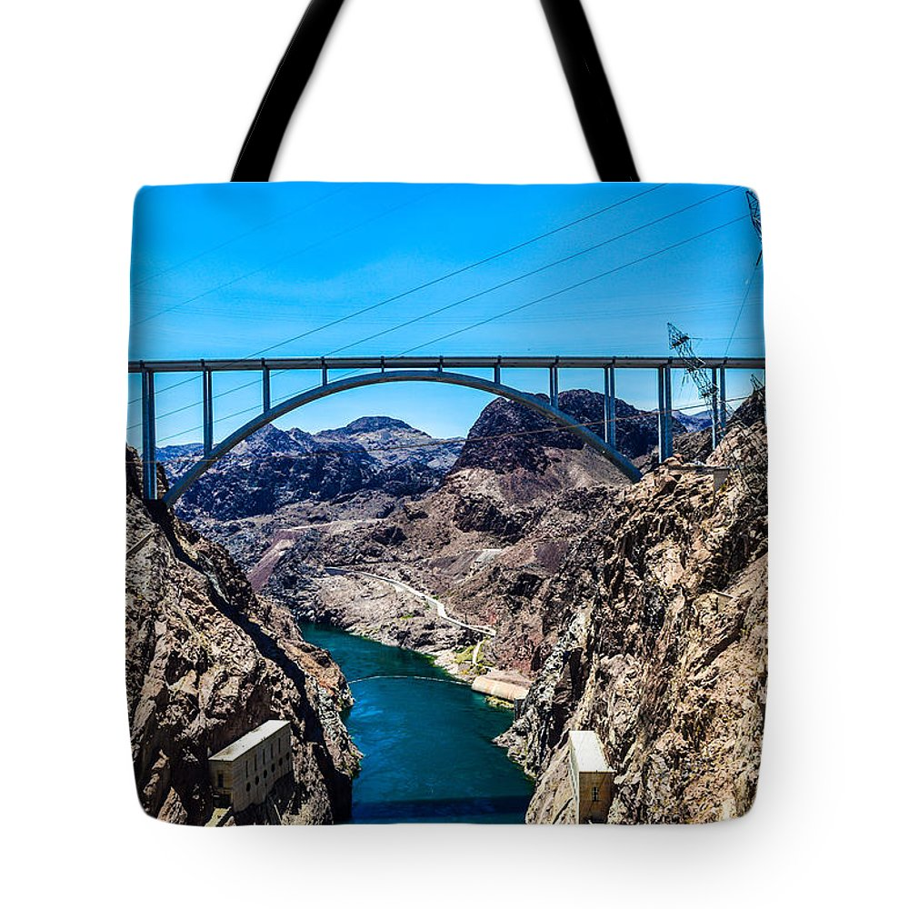 Bridge Tote Bag featuring the photograph Fruitful by Bryan James