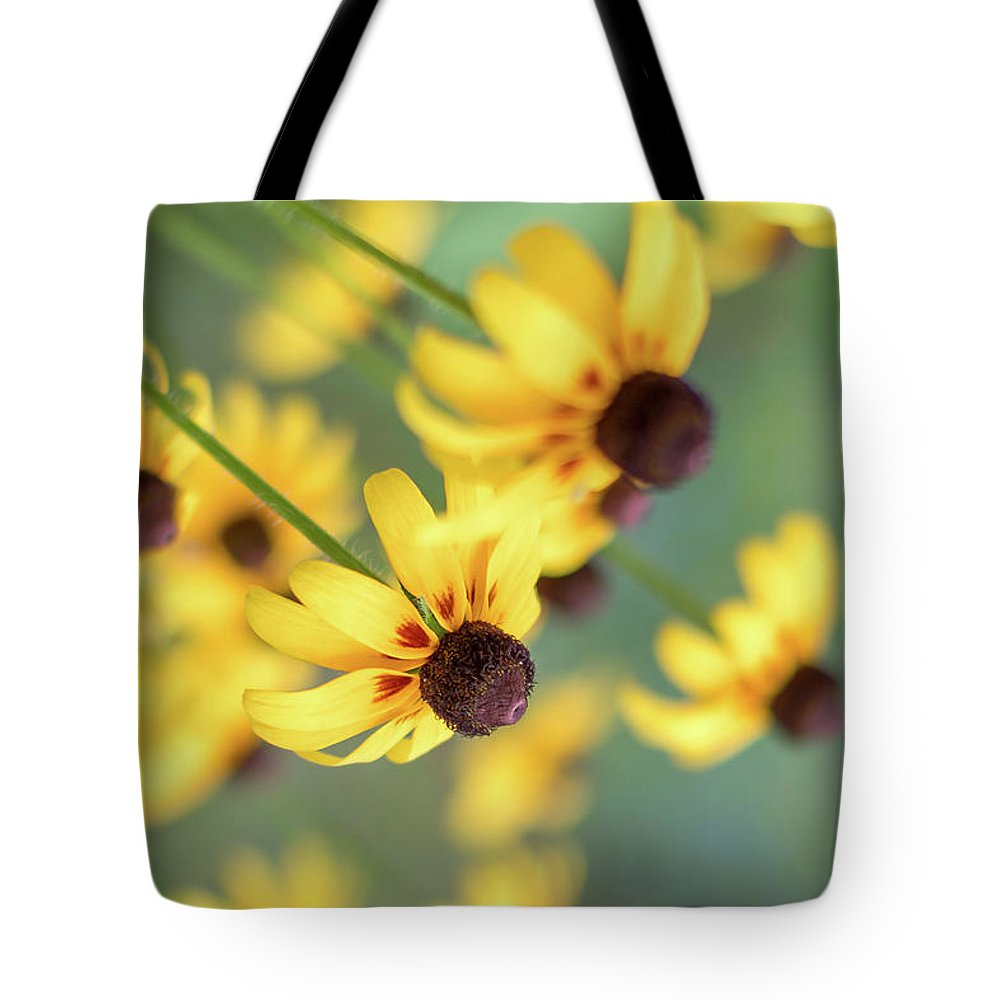 Flowers Tote Bag featuring the photograph Full Bloom by Vivian Starnes