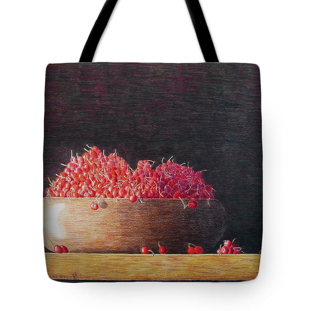 Still Life Tote Bag featuring the painting Full Life by A Robert Malcom