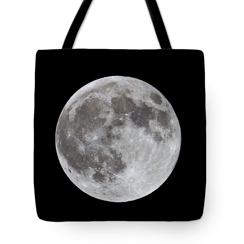 Moon Tote Bag featuring the photograph Full Moon 2 by Bob Kemp