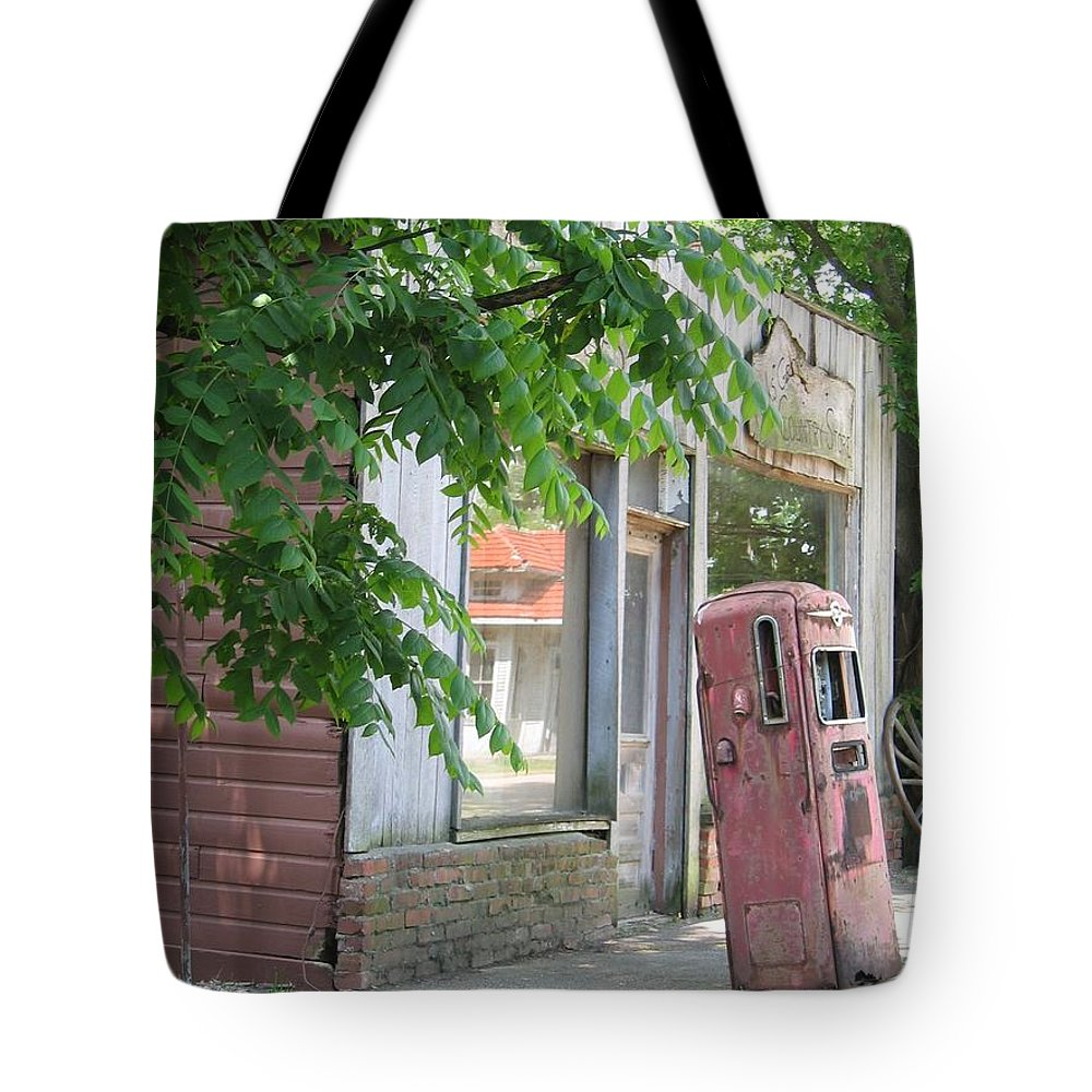 Rural Tote Bag featuring the photograph Funk's Grove I by Dylan Punke