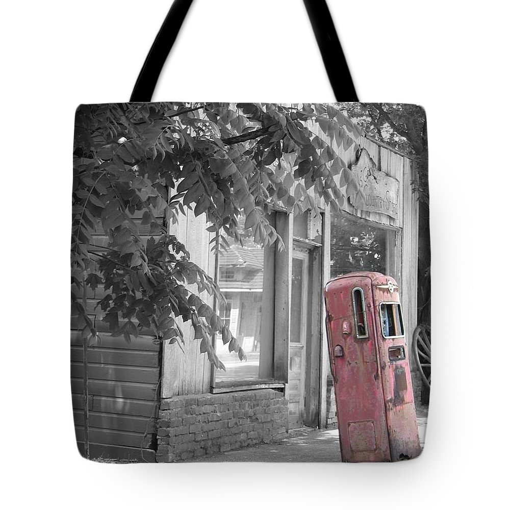 Rural Tote Bag featuring the photograph Funk's Grove Iv by Dylan Punke