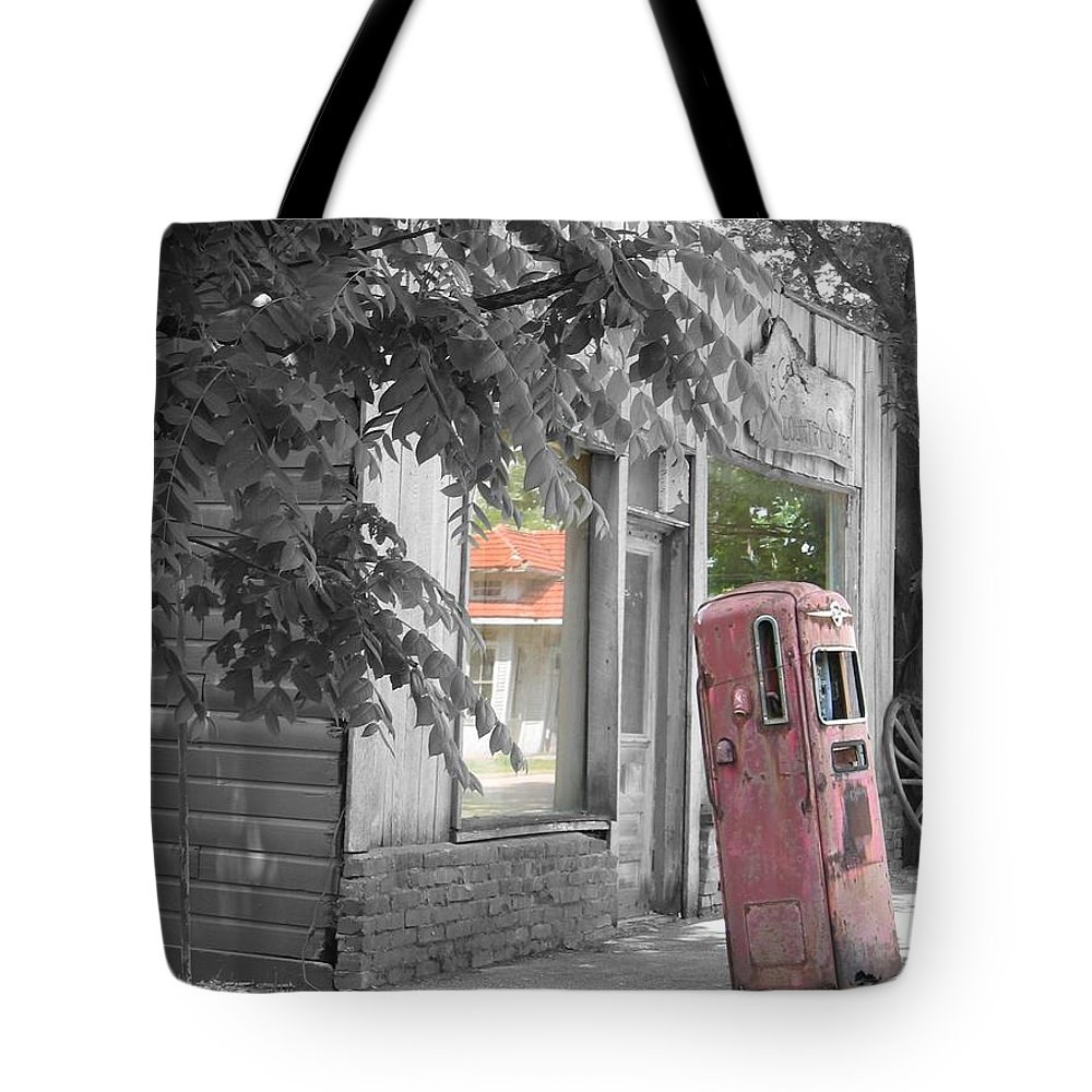 Rural Tote Bag featuring the photograph Funk's Grove V by Dylan Punke