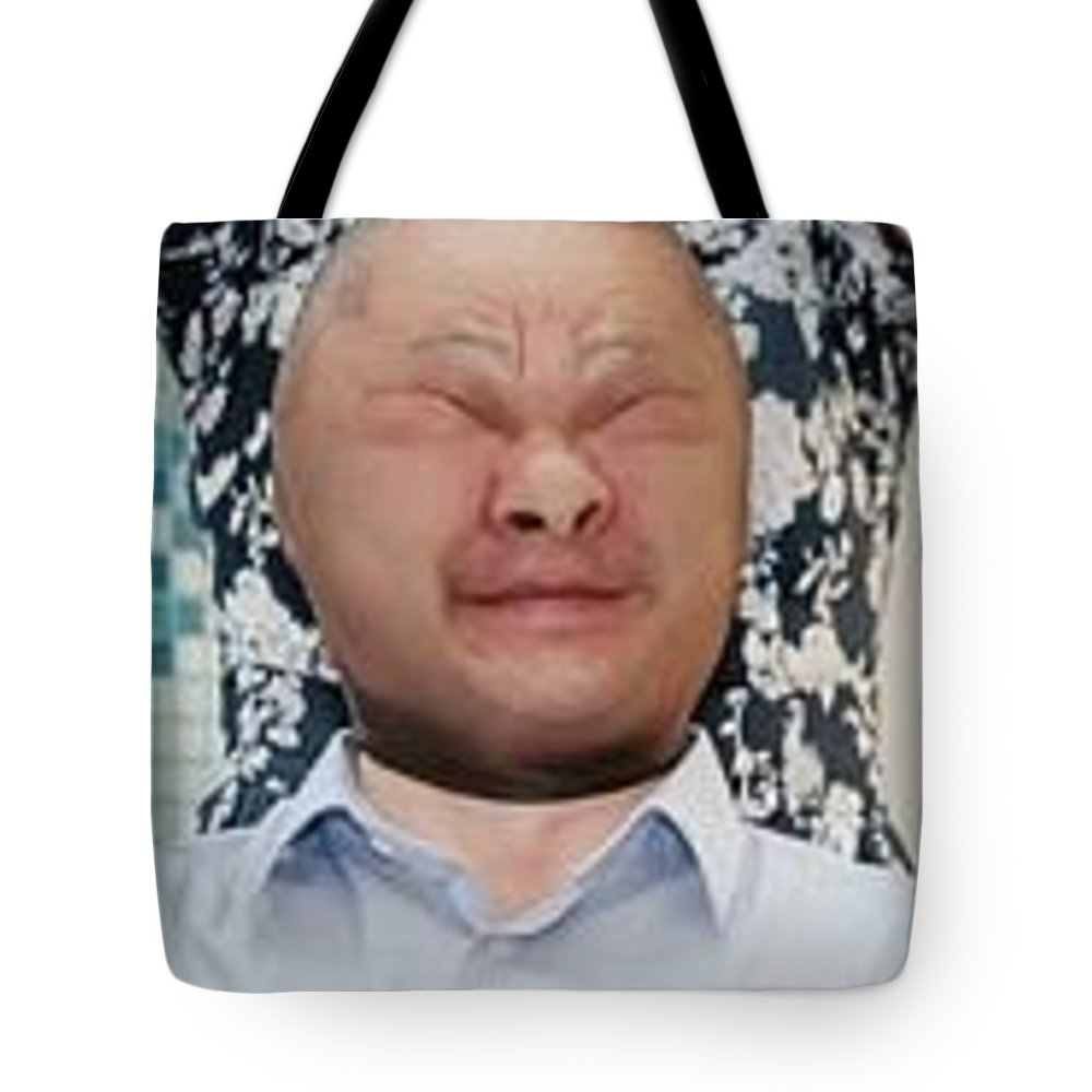 Original Foto Tote Bag featuring the photograph Funny by Artvid